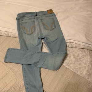 Hollister stone wash jeans